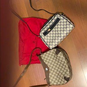2 Gucci bags & 1 Gucci dust bag Lot